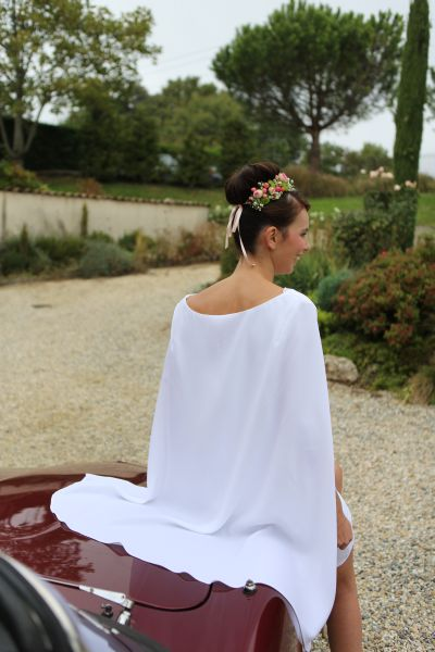 Robe Olympe dos
