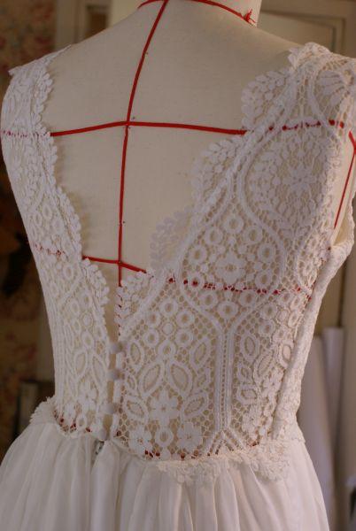 Robe de mariée Chez les Yacks créateur robe de mariée