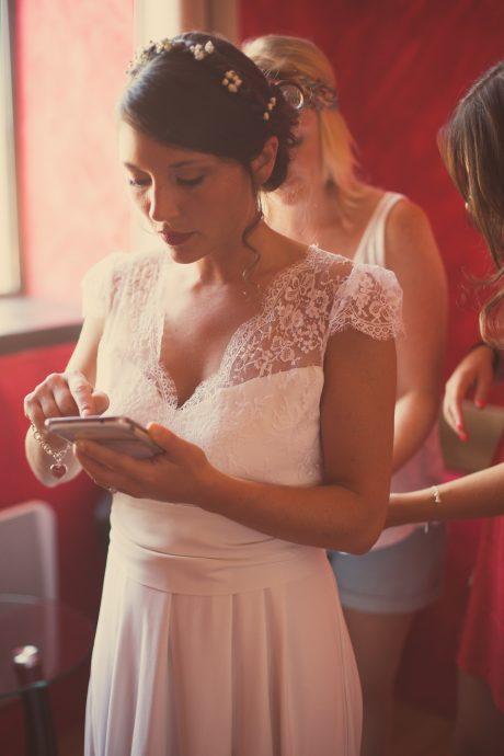 Mariage de Magalie et David - Pouilly le Monial, France - 22.08.2015 - © Flore Giraud / Love Story