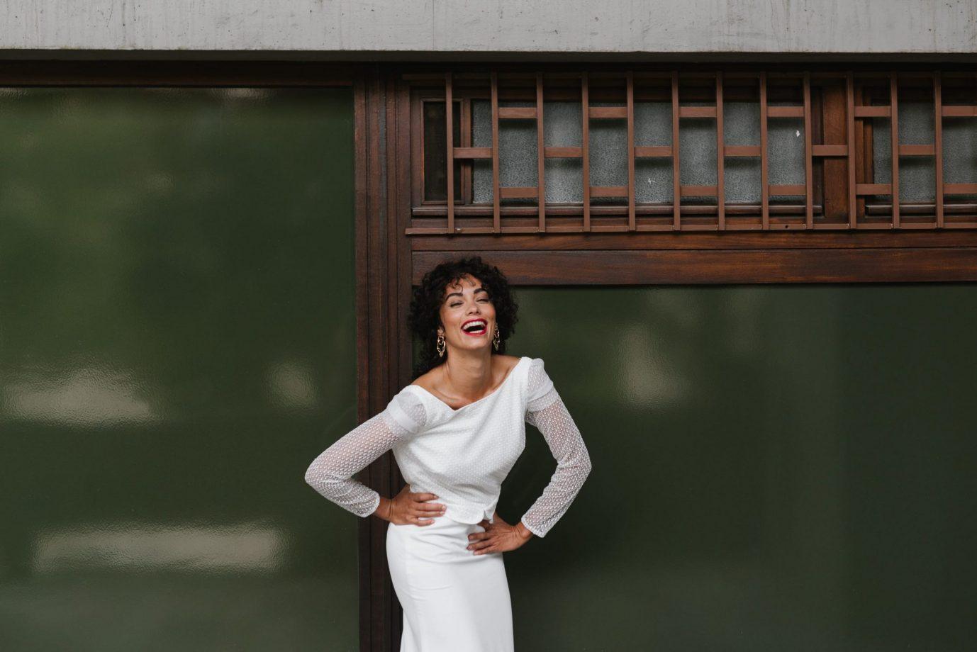 Clémentine Iacono - Créatrice de robes de mariée sur-mesure à Lyon - Adélaide