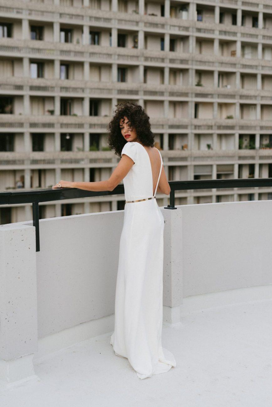 Clémentine Iacono - Créatrice de robes de mariée sur-mesure à Lyon - Eleonore