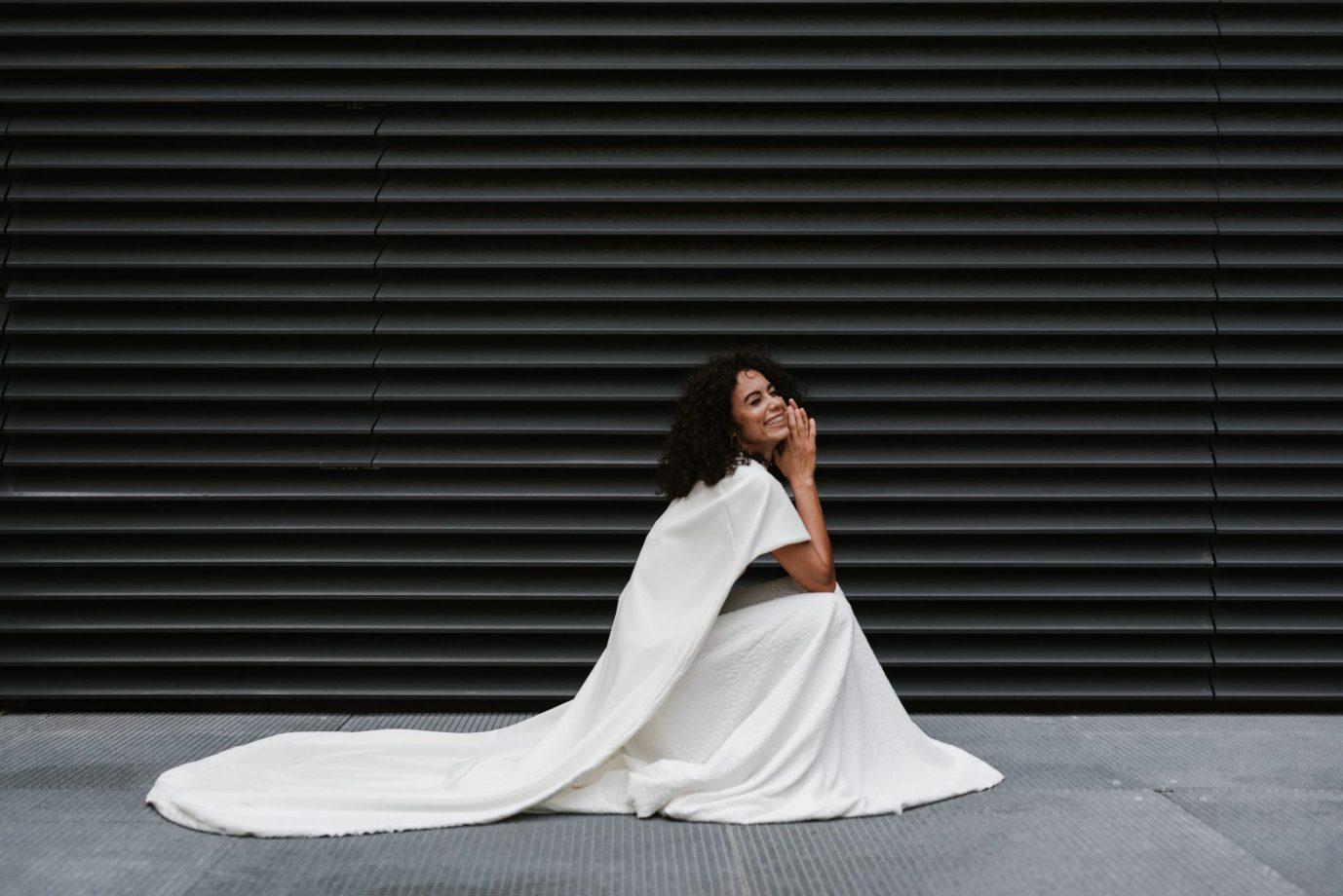 Clémentine Iacono - Créatrice de robes de mariée sur-mesure à Lyon - Laure