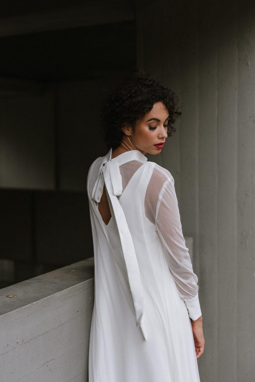Clémentine Iacono - Créatrice de robes de mariée sur-mesure à Lyon - Simone