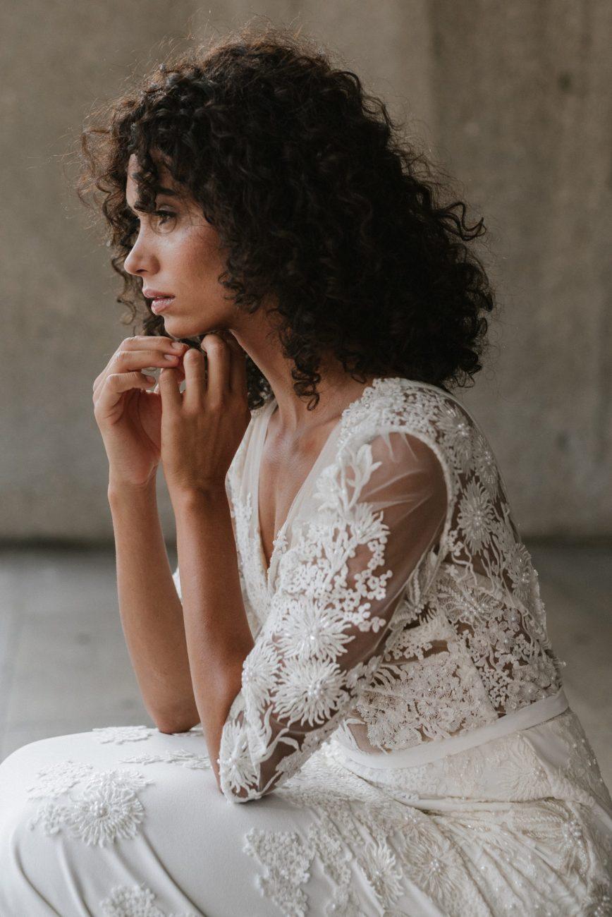 Clémentine Iacono - Créatrice de robes de mariée sur-mesure à Lyon - Toscane